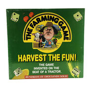 1996 The Farming Game Harvest The Fun Weekend Farmer New And Sealed
