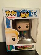 Funko Pop Saved By The Bell 313 Zack Morris Protector Included