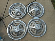 Set 4 Ford Truck Vintage Wheel Covers Hubcaps Hub Caps F150 Heavy 1970s