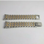 Hermes Watch Bracelet 18k Sold Gold And Stainless Steel