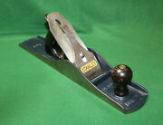 Great Clean User Stanley Bailey No 6 Type 20 Ca. 1962-67 Fore Plane Usa Invbr02