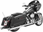 Freedom Performance Racing Dual Exhaust For Harley-davidson Flh Flt 1995-2008