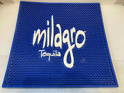Milagro Tequila Beer Bar Service Mat. Square. Service Bar Rail Runner. New.