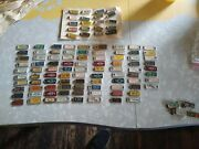 Great Large Vintage Lot 1940's Thru 70's Dav License Plate Tags Keychains Fobs
