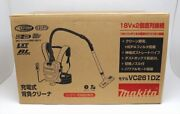 Makita Rechargeable Backpack Vacuum Cleaner 36v Battery Vc261dz Body Only New