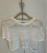 White Cropped T-shirt Brand New With Tags