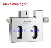 Wire Edm High Precision Vise Stainless Steel 2 /50mm Jaw Opening Clamp Tool New