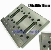Wire Edm Fixture Board Stainless Jig Tool For Clamping And Leveling 120x150x15