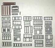 Tichy Trains N Scale Wind/doors/and Part Assorted   2540