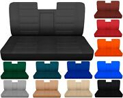 Car Seat Covers Fits Ford F150 Truck 87-91 Front Bench With Armrest Molded Hr