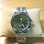 Seiko Alpinist Sarb017 Discontinued Cal.6r15 Date Automatic Mens Watch Authentic