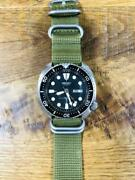 Seiko 6309-7040 Vintage Day Date 3rd Diver Ss Automatic Mens Watch Auth Works