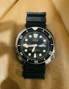 Seiko 6309-7040 Vintage Day Date Rare Diver Ss Automatic Mens Watch Auth Works