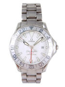 Omega Seamaster Gmt Chronometer Automatic Date Watch 2538.20 W/box, Cards
