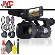 Jvc Gy-hm620 Prohd Mobile News Camera + Filter Kit + Cleaning Kit
