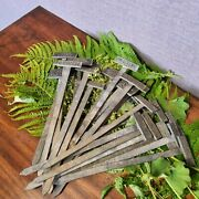 Antique Plant Markers Plant Labels Botanical Markers Garden Tags