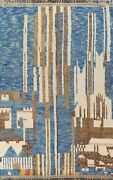 Abstract Moroccan Berber Oriental Area Rug Hand-knotted Plush Wool Carpet 8x11