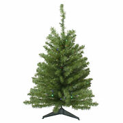 Northlight 3and039 Battery Operated Led Pine Artificial Christmas Tree - Multi Lights