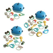 Baby Teether Rattles Grab Spin Rattles Teething Bath Toys New For Newborn