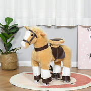 Indoor Childrens Fun Rocking Rolling Pony With Large Size For Kids 3-8 Years