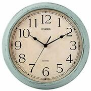 Wall Clock, 12 Inch Vintage Silent Retro Wall Clocks Battery Operated Non