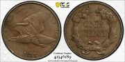 1858/7 Flying Eagle Cent Strong Overdate Pcgs Certified Genuine Au Details