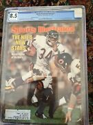 Sports Illustrated 1977 Walter Payton Fc Cgc 8.5 Subscription Issue 1/1