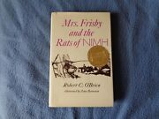 Mrs. Frisby And The Rats Of Nimh Oand039brien 1st Edition/1st Printing 1971 Hc/dj