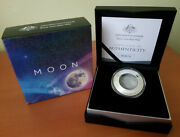 Australia 2019 5 The Moon - The Earth And Beyond Silver Domed Coin 💥rare💥
