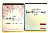 Twilight Saga Breaking Dawn Part 1 Extended And Part 2 Deluxe Blurays