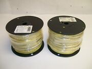 New 1,000 Ft 1000' 12 Thhn Thwn Solid Copper Wire Yellow 2 500' Rolls