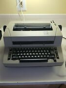 Rare Ibm Personal Typewriter With Manuals And Dust Cover And Bag