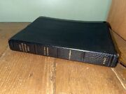 Dake's Annotated Reference Bible Genuine Leather 1970 4th Printing Vintage