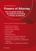 Peter Wade Powers Of Attorney An Emerald Guide Paperback