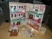 Fisher Price Loving Family Special Edition Townhouse Lights Sounds Furniture Lot