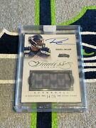 Panini Flawless On Card Autograph Jersey Auto Seahawks Russell Wilson /25 2014