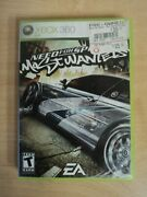 Xbox 360 Need For Speed Most Wanted Video Game 2005 Complete