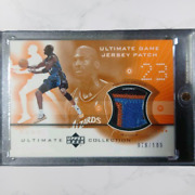2001-02 Upper Deck Ultimate Collection Jerseys Patches Ultmate Game Jersey Patch