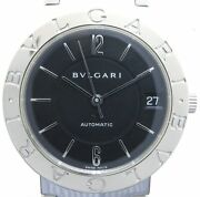 Bvlgari Bb33ss Automatic Boys Size Stainless Steel Shippingfree From Japan