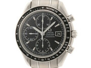 Omega Speedmaster 3210.50 Black Dial Stainless Automatic Winding Mens Watches
