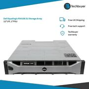 Dell Equallogic Ps4100 12lff 2.5 Storage Array 2 Type 12 Controllers 2psu