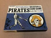 Vintage Ed-u-cards Official Pittsburgh Pirates Baseball Card Game In Box 1964