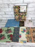 Vintage Wrapping Paper Lot Various Occasion 11 Sheets And 3 Kitschy Gift Boxes