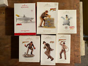 Hallmark Ornaments Lot Jaws Indiana Jones Griswold Family Christmas Tree