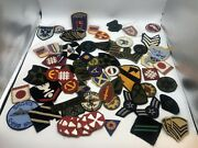 Vintage Military Patch Lot