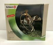 Schleich 41340 Exclusive Roping Cowboy With Cow World Of Nature Farm Life New