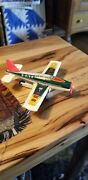 Vintage Toy Tin Plane. N-415 S Friction Works Great Great Condition