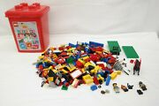 Lego System 1707 20th Anniversary Jackpot Bucket Base Plates Minifigure As Is Tf