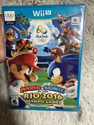 Mario And Sonic At The Rio 2016 Olympic Games [nintendo Wii U, Ntsc, Sports] New