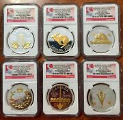 Canada 2015 Gilt Silver Proof Nickel Ngc Pf70 Uc Only Pf70 Set On Ebay